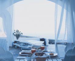 オシャレな朝食のイメージ画像